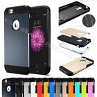 "Fr Apple iPHONE 6 4.7"" Plus 5.5"" Inch Hybrid Tough Armor Phone Case Cover Bumper"