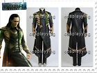THOR 2:Dark World Avengers Loki Full Set Outfit Halloween Cosplay Costume Suit