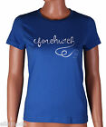 Fenchurch Womens Black Blue Pink Grey Logo T Shirt Top Free UK Ship XS Small New
