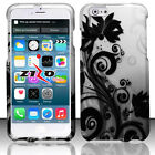 Fo iPhone 6 6S Rubberized HARD Protector Case Phone Cover + Screen Protector