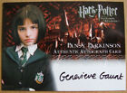Uncle Vernon Pansy Parkinson Harry Potter PoA Auto Autograph Trading Card