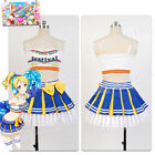 Love Live! Eli Ayase Party Dress Cosplay Costume Outfit Cheerleader Uniform Suit