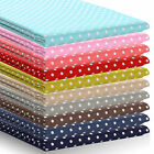 New Polka Dot Fabric  Approx 4mm Spots 100% Cotton Spotty Shabby Chic