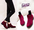 women fashion martin boots 2 colors ladies thick with heel ankle boots