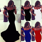 Womens Sexy Party Cocktail Evening Wedding Bridesmaid Prom Ball Long Maxi Dress