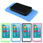 New TPU Rubber Gel Soft Case Cover Belt Clip For iPod Nano 7 7G 7th Gen Salable