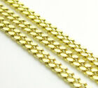 """18-26"""" 1.4mm 10k Yellow REAL SOLID Gold Miami Cuban Curb Chain Necklace Mens"""