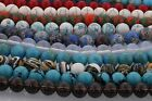 Natural Gemstone Round Loose Beads Jewelry Findings For Jewelry Making,24 Styles