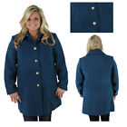 Jessica Simpson Women's Military Inspired Button Up Coat