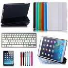 Stand Leather Case Cover Removable Bluetooth Keyboard For Apple iPad Air iPad 5