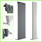 Vertical Designer Radiators Diamond Panel Central Heating Tall Upright Columns