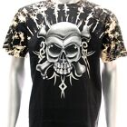 b93 Survivor T-shirt Sz M L Tattoo STUD Skull Design Graffiti Fatboy Men Casual