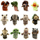 Hot Lovely Kids Plush Velour Hand Puppets Farm Animals Designs Learning Aid Toys