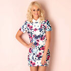 Womens Glamourous Watercolour Poppy Dress In Floral From Get The Label