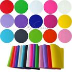 10 x Handicraft A4 Sheet Felt Fabric Crafting 1mm thick sewing Glue Scrapbooking