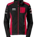 Polaris Women's Black & Red Top End Mock Jacket Zip Up