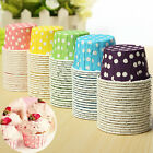 20 100pcs Cake Baking Paper Cup Cupcake Muffin Cases Candy  Nut Snack Home Party