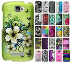 For Alcatel ONETOUCH Fierce 2 Rubberized HARD Protector Case Cover +Screen Guard
