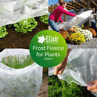 Frost Fleece Plant Protection Cold Wind Blanket Cover 1.5m 2m 3.2m 4m 6.5m 8.5m