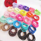 100 Pcs 10 Color Girls Tiny Hair Bands Elastic Rubber Band Ties Ponytail Holder