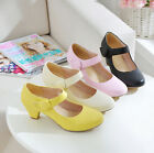 #2 Fashion Womens Mary Jane heels Shoes Ladies Pumps sweety faux leather ballet
