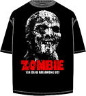 "Zombie Movie ""Distressed Look"" T-Shirt Fulci Argento Horror  (All Sizes)"