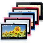 "New 7"" Dual Core Android 4.4 KitKat Tablet PC 4GB A23 1.5GHz Dual Camera WiFi"