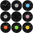 New Home Room Decor Art Design Vintage Retro Recyle Vinyl Record Wall Clock Gift