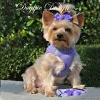 American River Ultra Choke Free Dog Harness Paisley Purple XS, SM and MED sizes