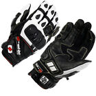 OXFORD RP-3 SHORT LEATHER ARMOUR DURABLE STRONG STREET SPORTS MOTORCYCLE GLOVES