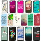 Sayings Quotes Case Cover for Apple iPhone 6 & Plus - A7