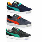 MENS BOYS PUMA SUEDE CLASSIC CASUAL LACE SPORT SUEDE LEATHER TRAINERS SHOES SIZE