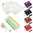 New 20 Pcs Nail Art Design Painting Dotting Pen Brushes Set Tips Tool/Nail Kit