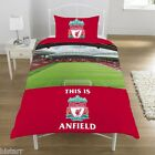 Set Housse de Couette Simple Liverpool LFC Anfield Football
