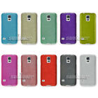 Silicone TPU Rubber Wiredrawing Gel Skin Cover Case for Samsung Galaxy S5,G900F