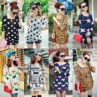 summer sexy women Casual Long Sleeve Shirt Tops Blouse Ladies Top 7 Types Hot