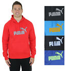 Puma Logo Men's Hooded Fleece Sweatshirt