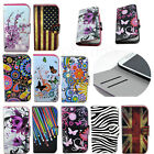 Folding Flip Leather Wallet Stand Case Cover For Various Samsung Galaxy Phone