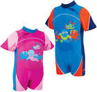 Zoggs SWIMFREE BABY FLOATSUIT Toddler/Child Buoyancy/Swim Aid Pool/Beach - BN