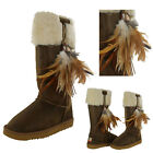 Lamo Tongva Women's Sheepskin Boots Feather