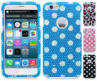 Apple iPhone 6 4.7 Crystal Diamond BLING Hard Case Phone Cover + Screen Guard