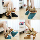 Hot Winter Warm Snow Ankle Boot Faux Fox Rabbit Fur Tassel Shoes 5 Size Thrifty