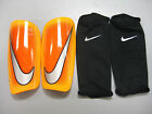 NIKE MENS SOCCER MERCURIAL LITE SHINGUARD Hyper Crimson/Lsr Orange -SP0284 885-