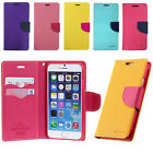 Leather Wallet Flip Credit Card Slot Case Cover for iPhone 6 4.7'' iPhone 6 Plus