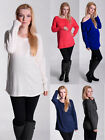 MIJA / Maternity Pregnancy tunic blouse pullover sweater top jumper RAW SEAMS