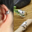 Fashion Punk Silver Tone Frog Cuff Ear Clip Wrap Earring 1PC Gold/Silver