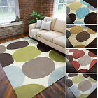 Hand-tufted Large Dot Geometric Area Rug (8' x 11')