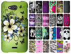 Alcatel ONETOUCH Evolve Crystal Diamond BLING Protector Hard Case Phone Cover