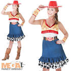 Jessie Adult Toy Story Fancy Dress Womens Disney Ladies Costume + Cowboy Hat New