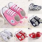 New! Newbown Infant Toddler Baby Boy Girl Soft Sole Crib Shoes to 18 Months US3